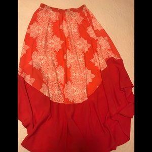 Fraiche by J long skirt